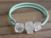 Cube Bangle Bracelet