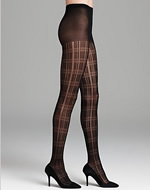 Plaid Tights - Bloomingdales.com